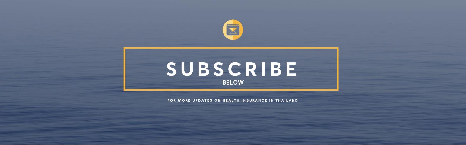 health updates thailand