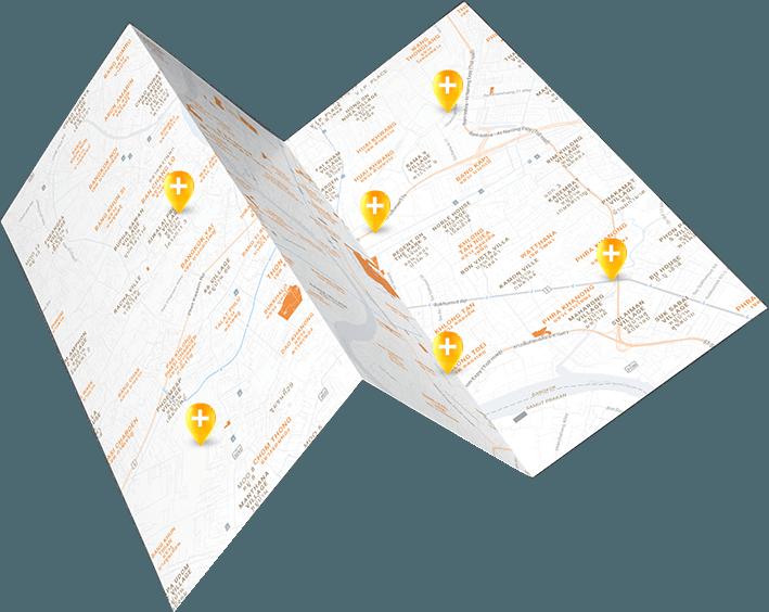 medical network map