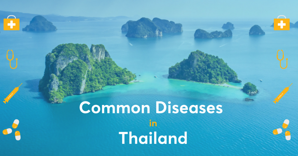 common diseases thailand